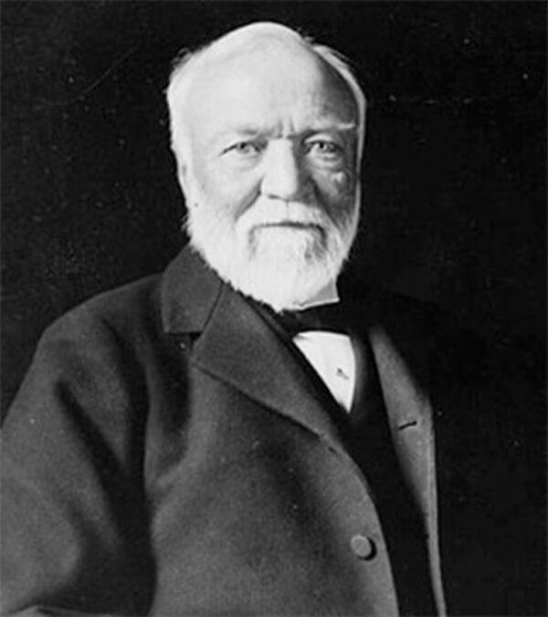 Andrew Carnegie Portrait